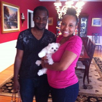 Jones Family w/Snowflake - Bowie, MD